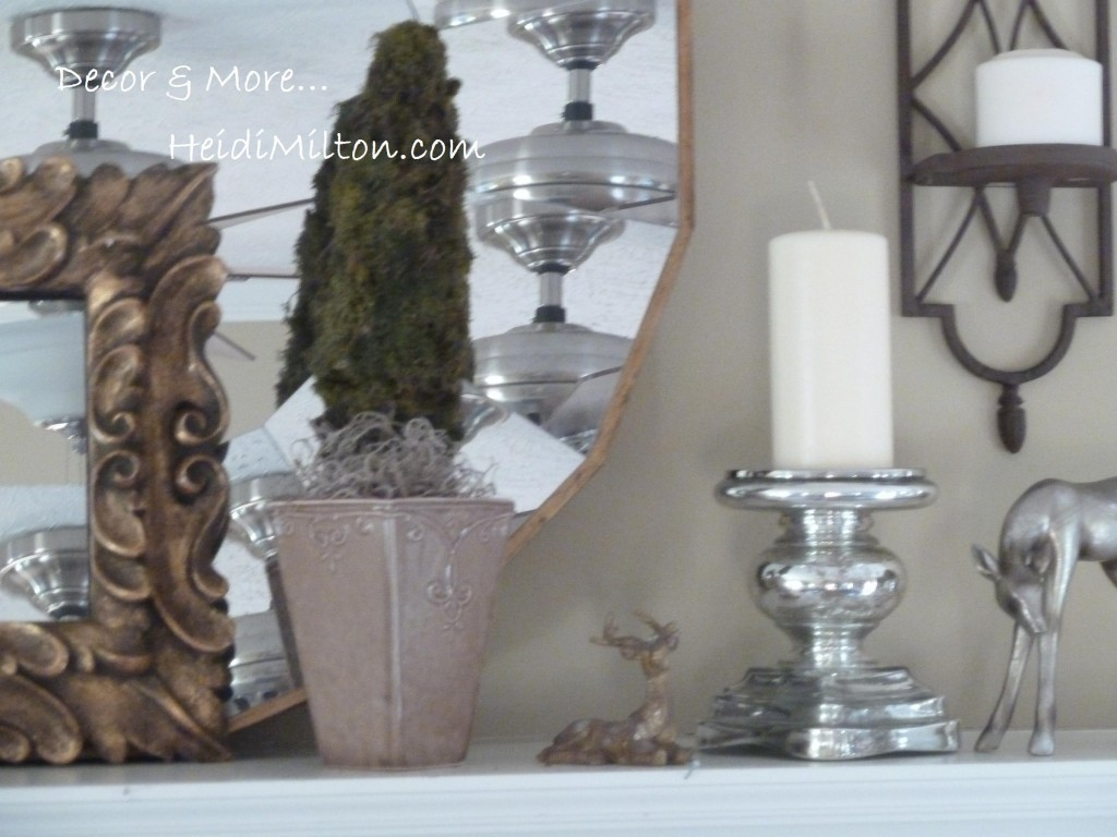 DIY Moss topiary