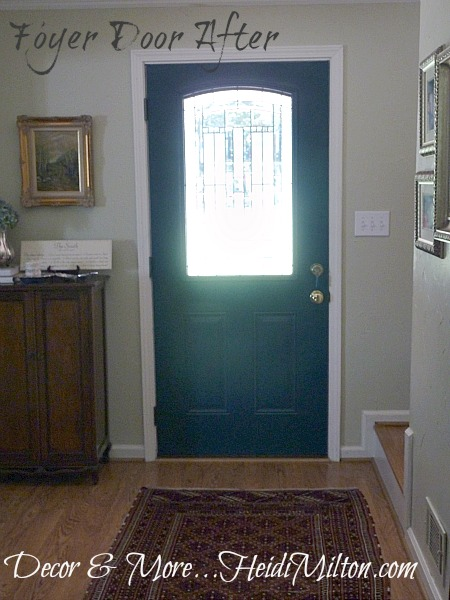 foyer door after
