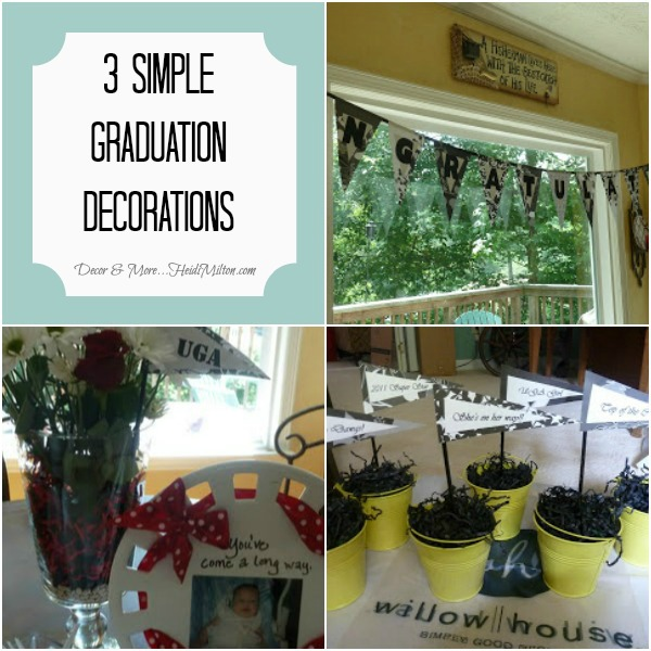 Graduation only lasts a weekend, but the Instagrams of your party last forever! Say see you later to high school in style.