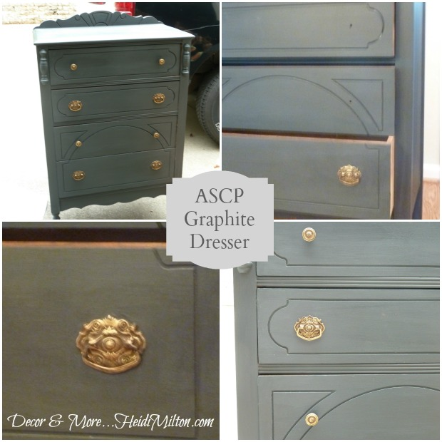 graphite dresser collage